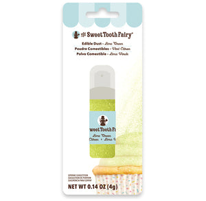 Sweet Tooth Fairy Edible Lime Glitter Dust | www.bakerspartyshop.com