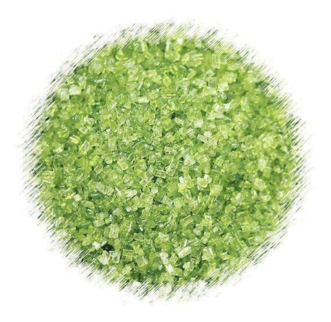 Lime Green Sparkling Sugar | www.bakerspartyshop.com