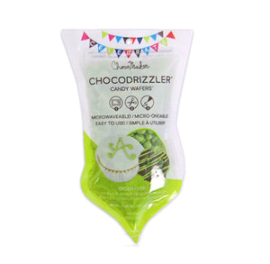 Chocodrizzler Mini Candy Wafers Pouch: Lime | www.bakerspartyshop.com