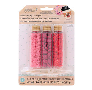 Sweet Sugarbelle Candy Decorating Kit: Bow, Cheeks, Lip | www.bakerspartyshop.com
