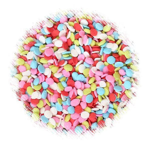 Mini Lollipop Polka Dot Sprinkles | www.bakerspartyshop.com
