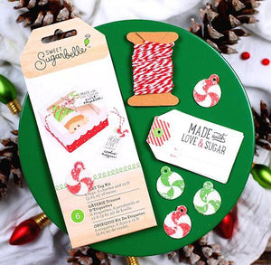 Sweet Sugarbelle Christmas Gift Tags: Made with Love | www.bakerspartyshop.com
