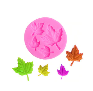 Maple Leaf Mold: Fondant + Chocolate | www.bakerspartyshop.com