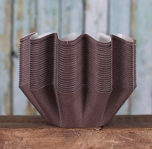 Medium Brown Muffin Baking Cups (25) | www.bakerspartyshop.com