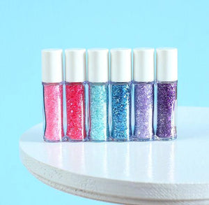 Mini Mermaid Sprinkles Set: Sparkling Sugar | www.bakerspartyshop.com