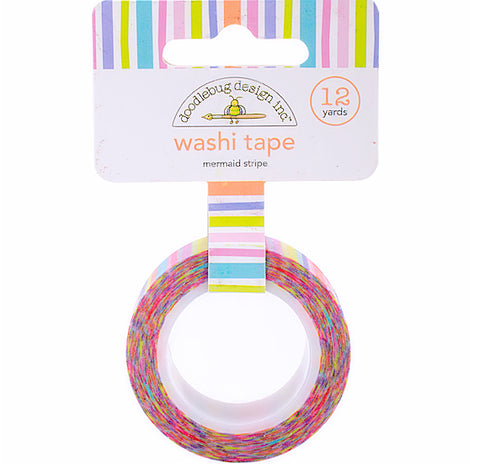 Mermaid Stripe Washi Tape | www.bakerspartyshop.com