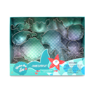 Under the Sea Cookie Cutter Set | www.bakerspartyshop.com
