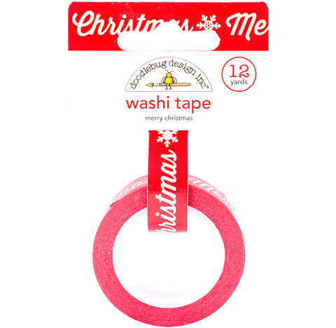Merry Christmas Washi Tape | www.bakerspartyshop.com