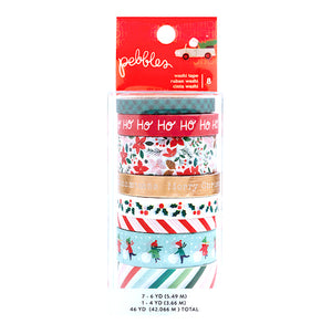 Christmas Washi Tape: Merry Little Christmas | www.bakerspartyshop.com