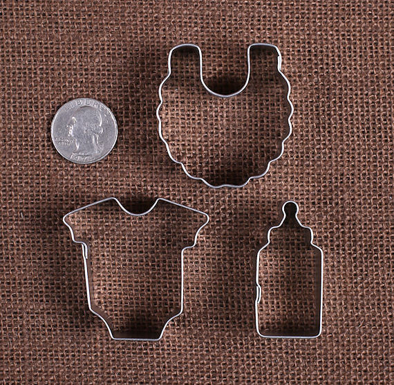 Mini Baby Cookie Cutters | www.bakerspartyshop.com
