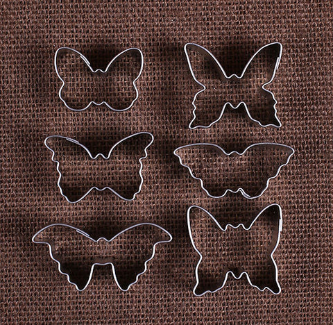 Mini Butterfly Cookie Cutters | www.bakerspartyshop.com