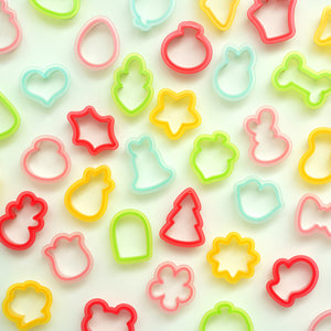 Sweet Sugarbelle Mini Cookie Cutter Set: Pre-Order | www.bakerspartyshop.com