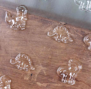 Mini Dinosaur Chocolate Mold | www.bakerspartyshop.com