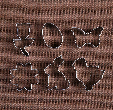 Mini Easter Cookie Cutters | www.bakerspartyshop.com