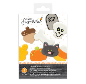 Sweet Sugarbelle Mini Fall Cookie Cutters Set | www.bakerspartyshop.com