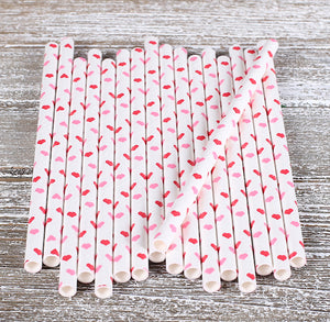 Mini Hearts Cake Pop Sticks: Pink and Red | www.bakerspartyshop.com
