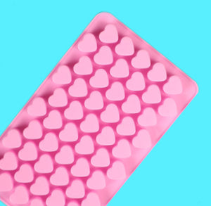 Mini Hearts Candy Mold | www.bakerspartyshop.com