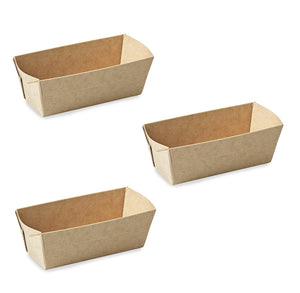 Mini Loaf Pans: Natural Brown | www.bakerspartyshop.com