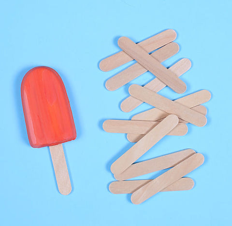 "Mini Wooden Popsicle Sticks (2 1/2"") 