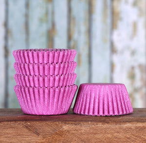 Mini Light Purple Cupcake Liners: Solid | www.bakerspartyshop.com