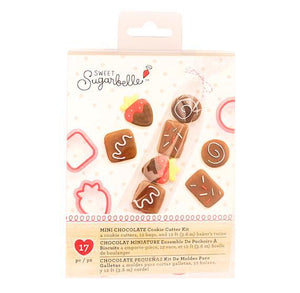 Sweet Sugarbelle Mini Cookie Cutters Kit: Chocolates and Strawberry | www.bakerspartyshop.com