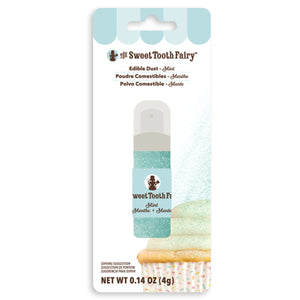 Sweet Tooth Fairy Edible Mint Glitter Dust | www.bakerspartyshop.com
