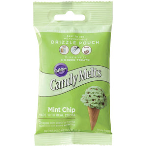 Mini Mint Chip Candy Melts | www.bakerspartyshop.com