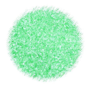Mint Green Sparkling Sugar | www.bakerspartyshop.com