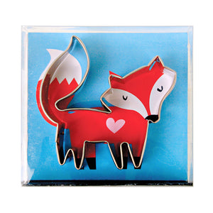 Little Fox Cookie Cutter | www.bakerspartyshop.com