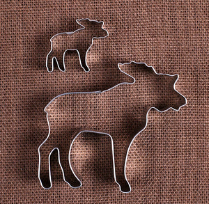 Moose Cookie Cutters Set | www.bakerspartyshop.com