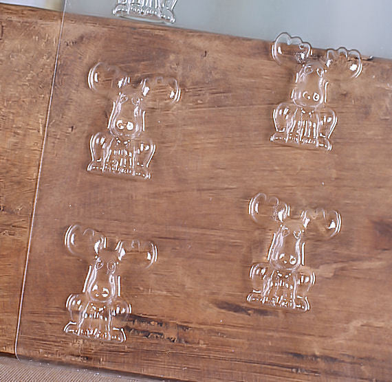 Mini Moose Chocolate Mold | www.bakerspartyshop.com