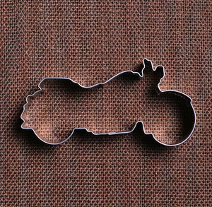 Motorcycle Cookie Cutter | www.bakerspartyshop.com
