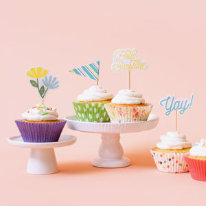 Cupcake Liners: Party Dots | www.bakerspartyshop.com