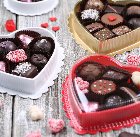 Assorted Medium Heart Candy Boxes | www.bakerspartyshop.com