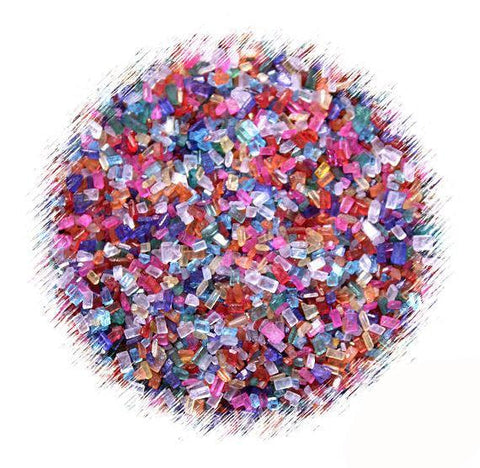 Multi Colored Sparkling Sugar Mix | www.bakerspartyshop.com