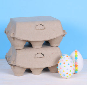 Natural Egg Cartons: 6 Egg | www.bakerspartyshop.com