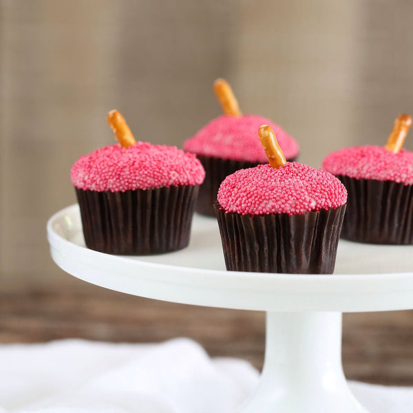 All Natural Red Nonpareil Sprinkles | www.bakerspartyshop.com
