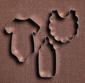 Sweet Baby Shower Cookie Cutter Set | www.bakerspartyshop.com