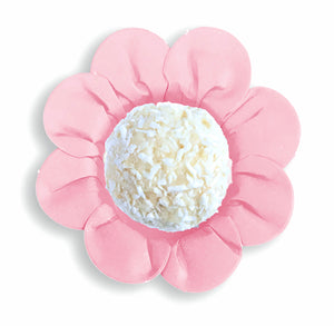 Daisy Flower Candy Cups: Light Pink | www.bakerspartyshop.com