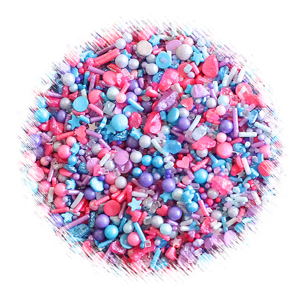 Sprinklefetti Mermaid Sprinkle Mix Mermaid Party