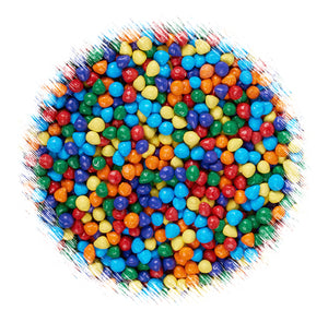 Mini Rainbow Candy Coated Chips | www.bakerspartyshop.com
