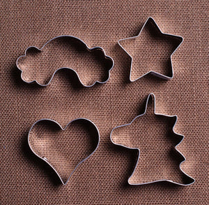 Unicorn Party Cookie Cutters Set | www.bakerspartyshop.com