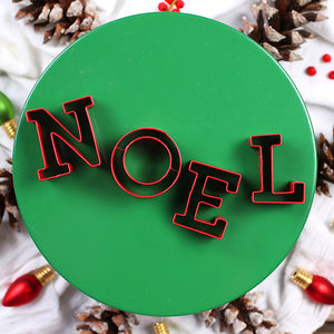 Noel Christmas Cookie Cutter Set | www.bakerspartyshop.com