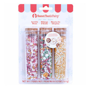 Sweet Tooth Fairy Sprinkles Kit: Noel Christmas | www.bakerspartyshop.com