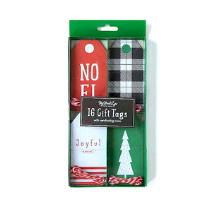 Christmas Gift Tags Box Set: Noel | www.bakerspartyshop.com