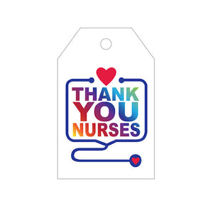 Thank You Gift Tags for Nurses | www.bakerspartyshop.com