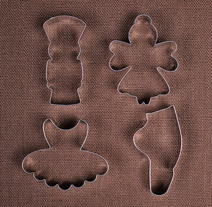 Nutcracker Cookie Cutter Set | www.bakerspartyshop.com