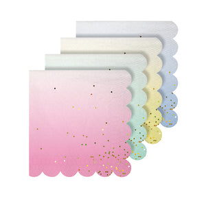 Small Sweet Pastel Napkins | www.bakerspartyshop.com