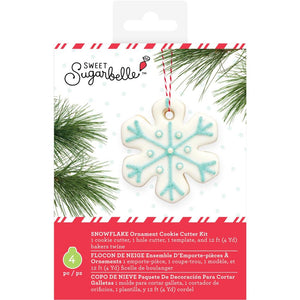 Sweet Sugarbelle Ornament Cookie Cutter Kit: Snowflake | www.bakerspartyshop.com