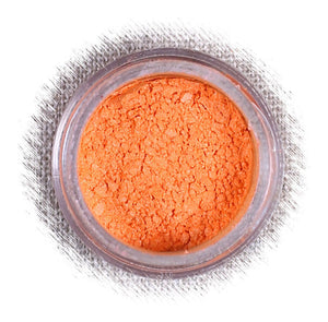 Tropical Coral Orange Luster Dust | www.bakerspartyshop.com
